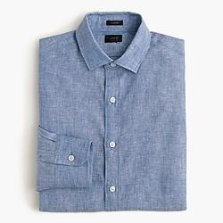 Ludlow shirt in délavé Irish linen