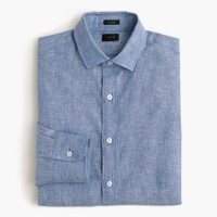 Ludlow shirt in délavé Irish linen