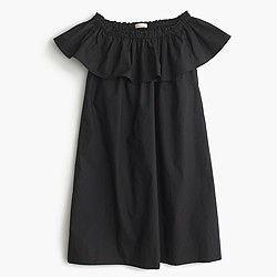 Girls' two-way ruffle dress