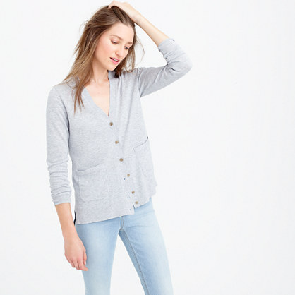 Summerweight cardigan sweater