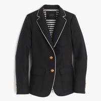 Rhodes blazer in tipped linen