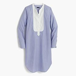 Thomas Mason® for J.Crew collarless tunic dress
