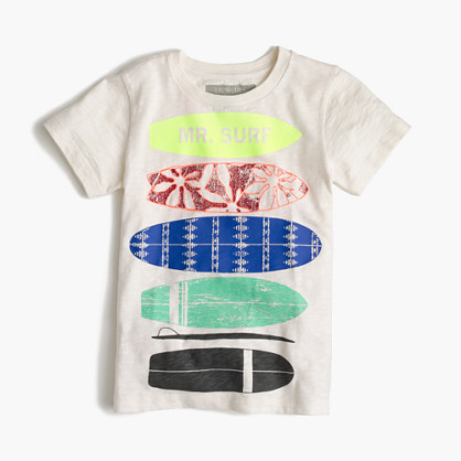 "Boys' glow-in-the-dark ""Mr. Surf"" T-shirt"