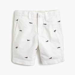 Boys' critter oxford short in sharks