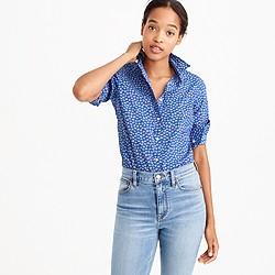 Perfect shirt in Liberty Art Fabrics Bellis print