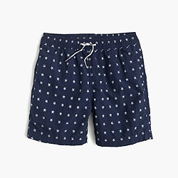 Boys' swim trunk in mini stars