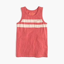 Boys' double-stripe tank top