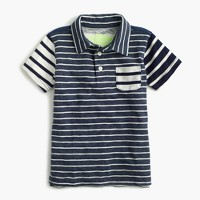 Boys' mash-up polo shirt