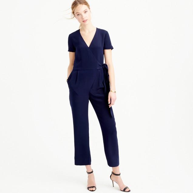 Collection crepe de chine jumpsuit
