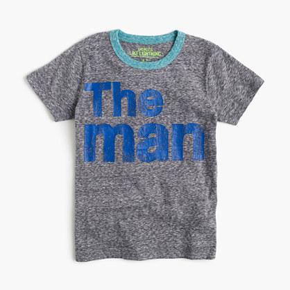 """Boys' """"the man"""" T-shirt"""