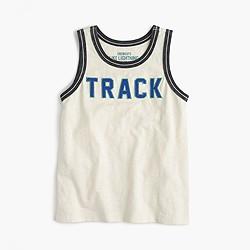 Boys' track tank top