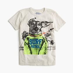 Boys' dachshund lifeguard T-shirt