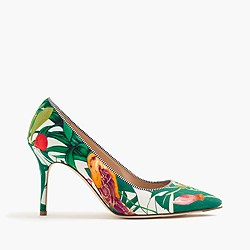 Elsie pumps in Ratti® Into the Wild print