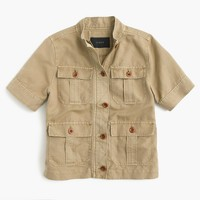 Safari shirt-jacket