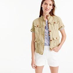 Safari shirt-jacket
