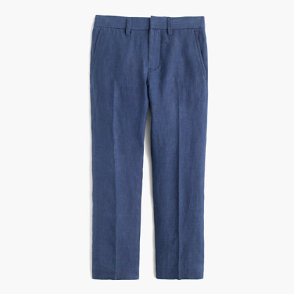Boys' Bowery pant in linen