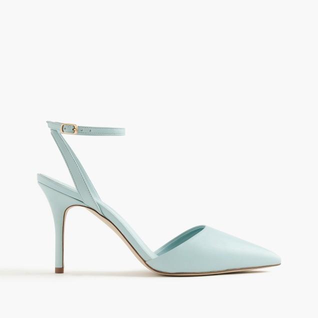 Elsie ankle-wrap pumps