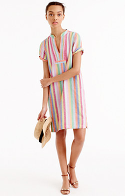 Candy-stripe dress