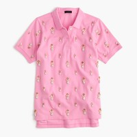 Collection embellished polo shirt