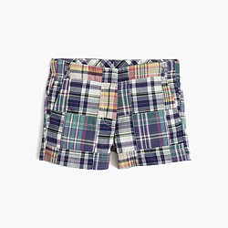 Girls' Frankie short in madras