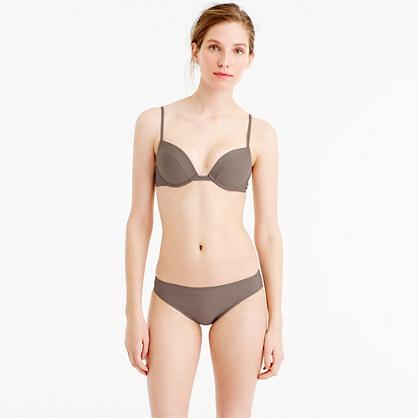 Underwire push-up bikini top