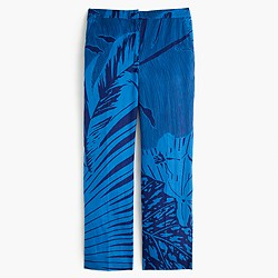 Patio pant in palm frond