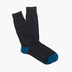 Cotton stretch socks