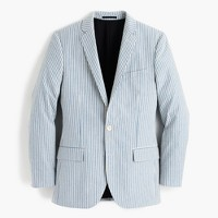 Ludlow suit jacket in Japanese seersucker