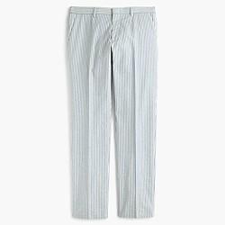 Ludlow suit pant in Japanese seersucker