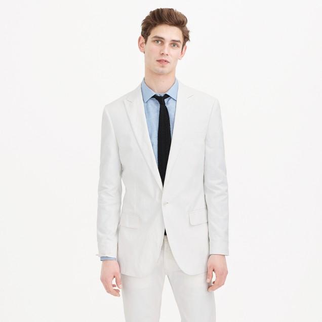 Ludlow dinner jacket in Italian cotton