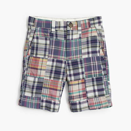 Boys' Stanton short in madras