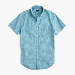 Short-sleeve shirt in polka dot