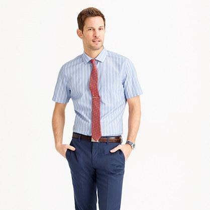 Ludlow short-sleeve shirt in stripe