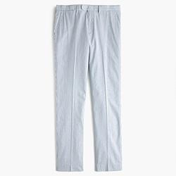 Bowery slim pant in seersucker