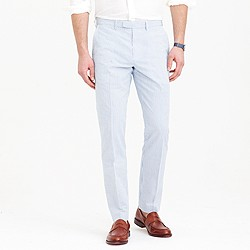 Bowery slim pant in seersucker