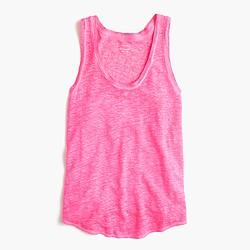 Linen cool-dye tank top
