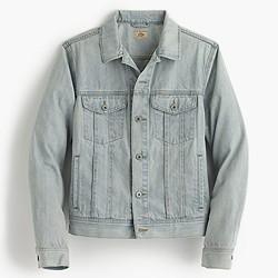 Denim jacket in light wash