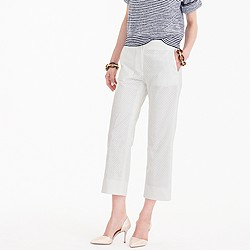 Patio pant in eyelet