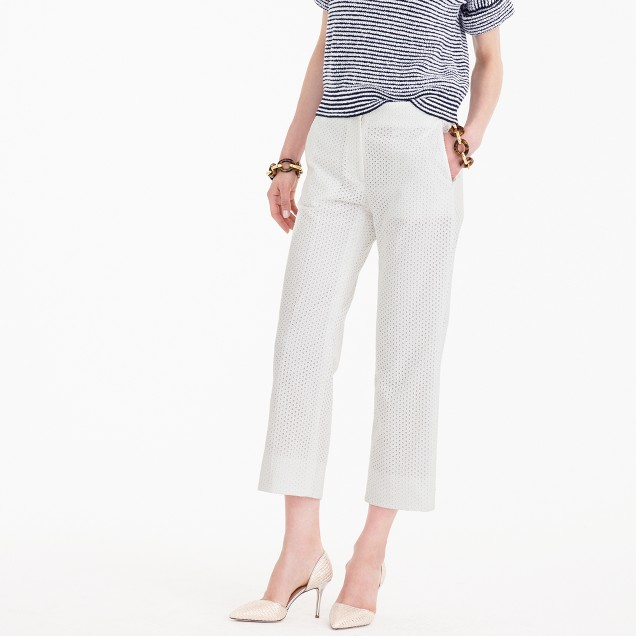 Tall patio pant in eyelet