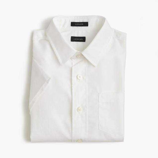 Boys' short-sleeve Ludlow shirt