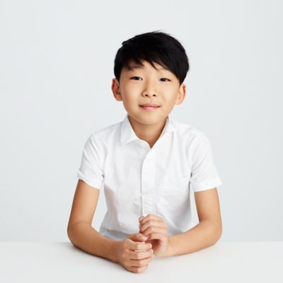 Boys' short-sleeve Ludlow shirt