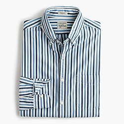 Secret Wash shirt in light blue stripe