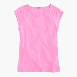 Ballet cap-sleeve T-shirt