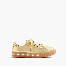 Kids' POP Shoes™ leather sneakers with light-up soles