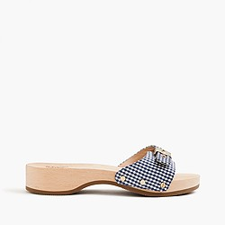 Dr. Scholl's® for J.Crew sandals in gingham