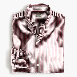 Slim Secret Wash shirt in red stripe