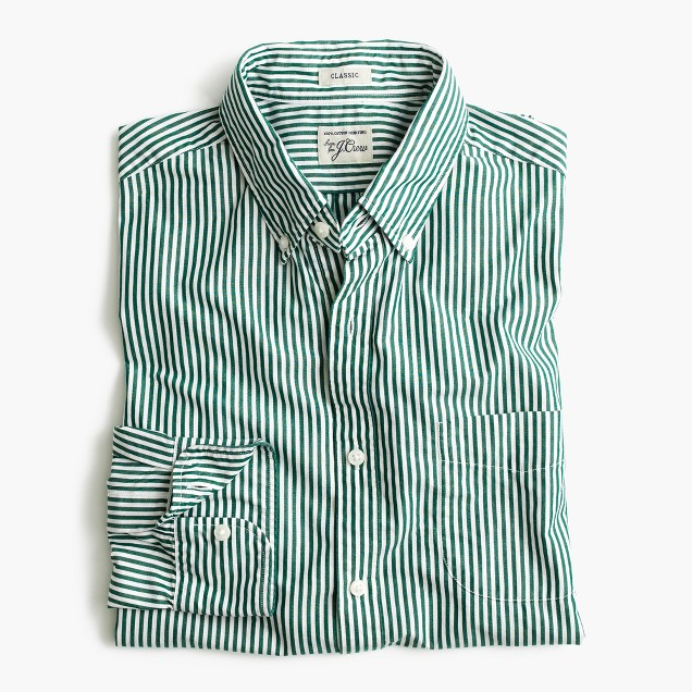Secret Wash shirt in stripe