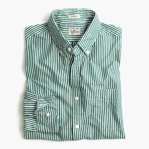 Secret Wash shirt in stripe