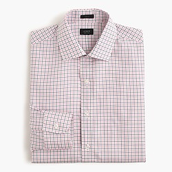 Crosby shirt in pink tattersall