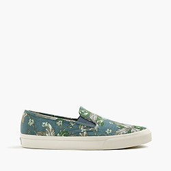 Sperry® for J.Crew CVO canvas slip-on sneakers in floral
